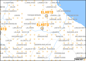 map of El Hato
