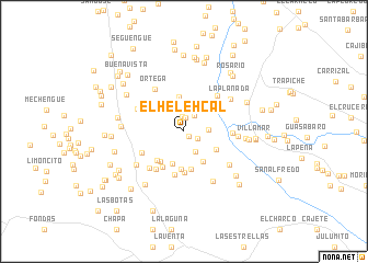 map of El Helehcal