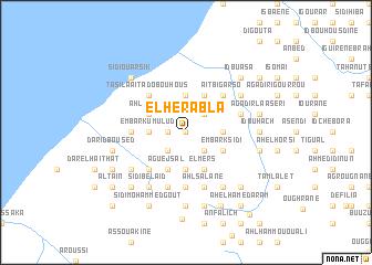 map of El Herabla