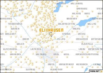 map of Elixhausen