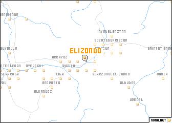 Elizondo Spain Map Nona Net