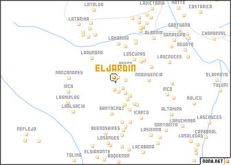 map of El Jardin