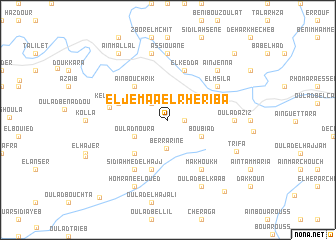 map of El Jemaa el Rheriba