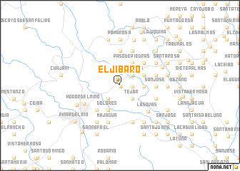 map of El Jíbaro