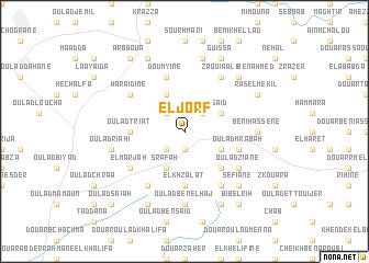 map of El Jorf