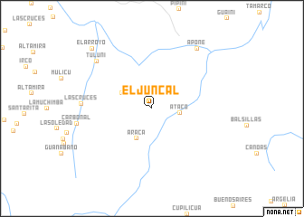 map of El Juncal