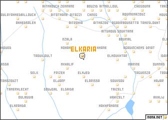 map of El Karia