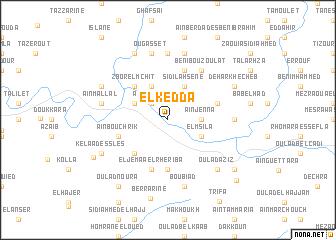 map of El Kedda