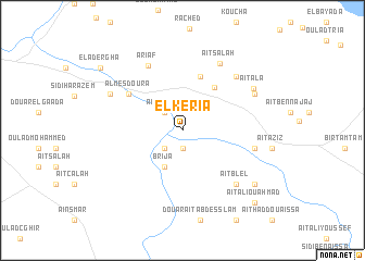map of El Keria