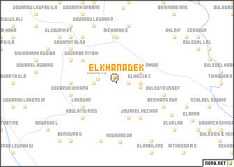 map of El Khanadek