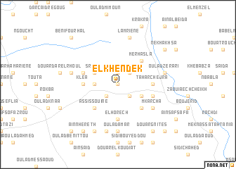 map of El Khendek