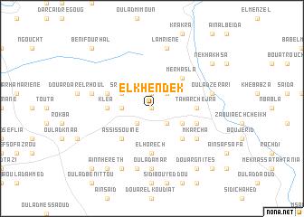 map of El Khendek