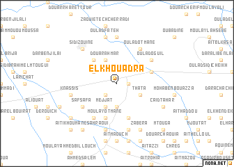 map of El Khouadra