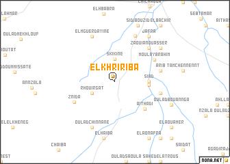 map of El Khririba