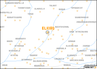 map of El Kiad