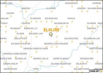 map of El Kline