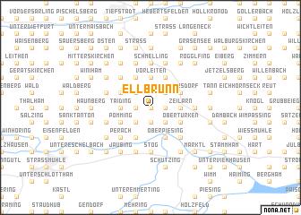 map of Ellbrunn