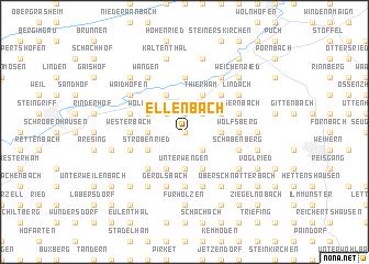 map of Ellenbach