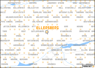 map of Ellersberg