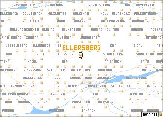 map of Ellersberg