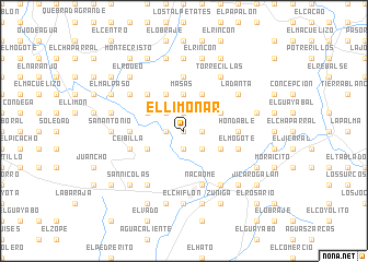 map of El Limonar