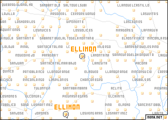 map of El Limón
