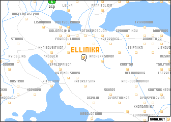 map of Elliniká