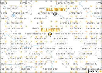 map of Ellmeney