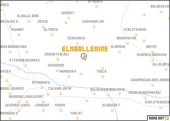 map of El Maallemine