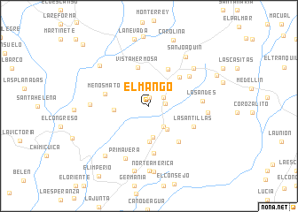 map of El Mango