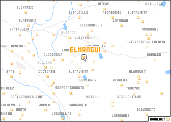 map of El Manguí