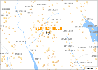 map of El Manzanillo