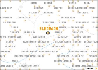 map of El Marjah