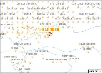 map of Elmauen
