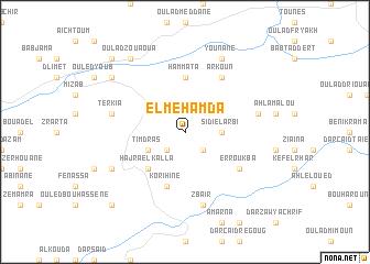 map of El Mehamda