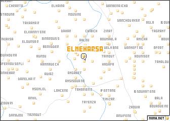 map of El Meharsa