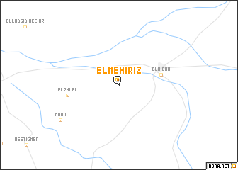 map of El Mehiriz