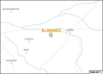 map of El Mehiriz