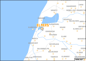 map of El Mers