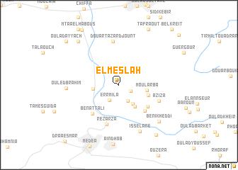 map of El Meslah