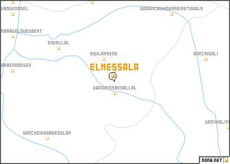 map of El Messala