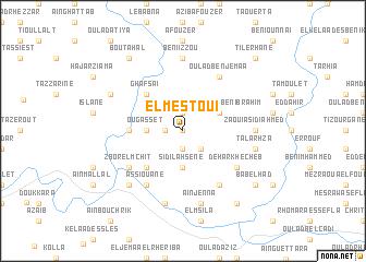 map of El Mestoui