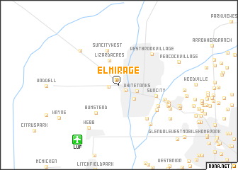 map of El Mirage