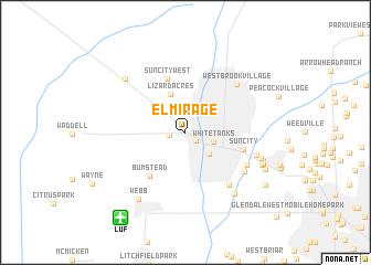 map of El Mirage
