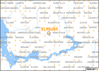 map of El Mojón