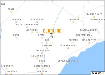 map of El Molino