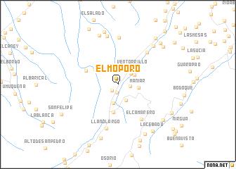 map of El Moporo