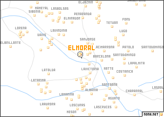 map of El Moral