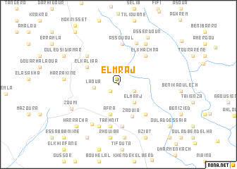 map of El Mraj