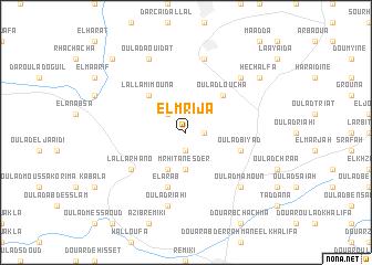 map of El Mrija
